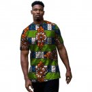 Traditional african tshirt male tops print short sleeve men africa t shirt new design o-neck dashiki