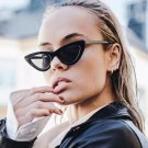 Women Black Red Cat Eye Sunglasses Luxury Brand Designer Small Ladies Sun Glasses Chic Sexy Star Sty