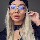 New Fashion Women Oversized Aviation Uv400 Sunglasses Lady Men cat eye sunglasses Brand Designer Cle