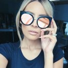 Brand Design Cat Eye Sunglasses Women Brand Designer Vintage Retro Mirror Sunglass Female Sun Glasse
