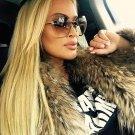 Pop Age High quality Rimless Women Sunglasses Celebrity Vintage Driving Sun glasses Ladies Eyewear O