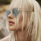Luxury Vintage Aviator Sunglasses Women Brand Designer Female Sunglass Points Sun Glasses For Women