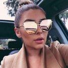 Brand Retro Cat Eye Sunglasses Women Vintage Eyewear Oversized Metal Frame UV400 Sun Glasses 2017 Ne