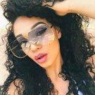 Hot New Arrival Women Brand Designer Men Luxury Mirror Sunglass V Oversize Clear Female 2018 Sun Gla