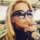 Oversized Cool Shades Women Brand Designer Sunglasses Army Green Camo  Cross Sun Glasses Female Fram
