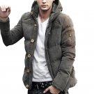 Fashion Mens Down Coats Winter Ultra Light Down Jacket Men Casual Brand Warm Coat Male Windproof Par