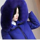 Plus size Winter Jacket New Style Women Down Cotton Overcoat Thick Warm Coat Elegant Slim Hooded Fur