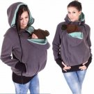 Winter Women Baby Carrier Jacket Kangaroo hoodie Maternity Outerwear for Pregnant Thickened Pregnanc