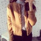 Women Cardigan Sweater Autumn Winter Woolen Knitted Cardigan Female Thick Short Jacket Sweater Women