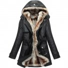 2017 Fashion Autumn Winter jacket Women Warm Coat Parkas With Hood Removable Fur lining Thick Oversi