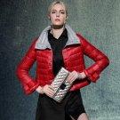High Quality European Fashion 2017 Winter Jacket Women Designer Short Duck Down Parkas Coat Outwear