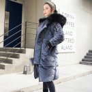 Korean style 2017 new loose winter clothing warm outwear padded jacket plus size solid bread coat nt