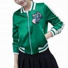 Women Bomber Jacket 2017 Female Brand Baseball Jackets Casual Basic Coat Fashion Embroidered Woman O