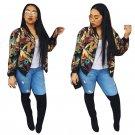 Autumn Womens Jackets And Coats 2016 long sleeve Jacket Women Outerwear Women Bomber Jacket Trenchco