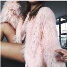 Womens Winter Warm Brand Fluffy Faux Fur Coats Jackets White Fake Fur Coats female Fashion Coat Fema