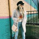 HOT Women Fur Coat Winter Warm Hairy Fluffy Faux Fur Long Coat White Plus Size Jacket 2017 Elegant F