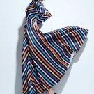 Lapel Floor-Length Vintage Women\'s Long Sleeve Dress (Plus Size Available)