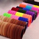 100Pcs Girls Headwear Elastic Hair Bands Ties/Rings Hair Rubber Bands Ponytail Holder Scrunchie Hair