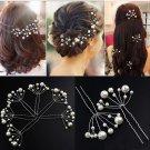 5Pcs Simulate Pearl Hairpins Hairstyles Wedding Bridal Hair Pins Hair Jewelry Accessories Hairwear G