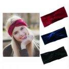 1pcs Velvet Twist Headband Women Earmuffs Earwarmers Noble Scrunchy Hair Band Turban Headband Bandan