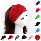 Ladies cotton Hairband Head Band Headband Wrap Neck Head Scarf Cap 2 in 1 Bandana