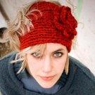 Fashion Autumn Winter Woolen Headband Knitted Crochet Earmuff Warm Turban Hair Band Headwrap For Wom