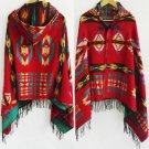Ethnic Multifunction Bohemian Shawl Scarf Tribal Fringe Hoodies Jacket striped Cardigans blankets Ca