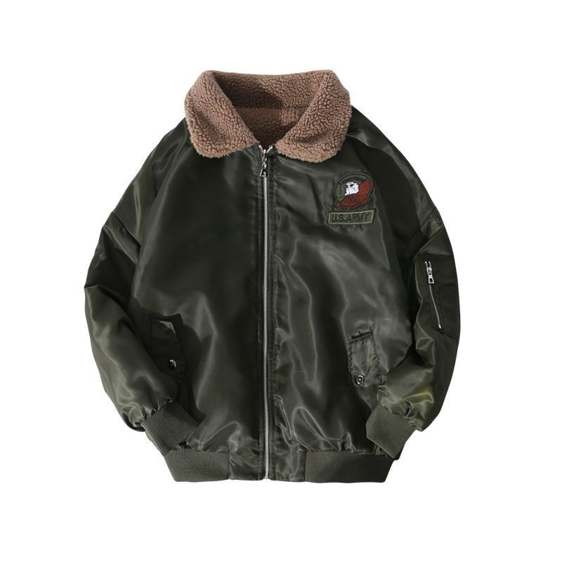 2017 Padded Parka Men Polyester Coat Winter Jacket Mens Fashion Thick Parkas hip hop windbreaker jac