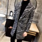 2017 Hot Sale Conventional Broadcloth New Winter Men Trench Coat Long Slim Fit Overcoat High Quality