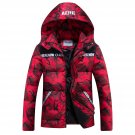 Patchwork Camouflage Hooded Men\'s/Women Winter Coat 2017 Newest Parka Warm Hot Selling Asian Size F