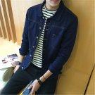 Top 2017  hot selling new spring youth denim jacket men Jacket Mens denim shirt trend of Korean cult
