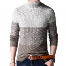 Mens Fashion Sweater Turtleneck Warm Pullovers Sweaters Good Quality Streetwear Knitted Men Pullover
