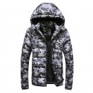 2017 Men\'s Warm Camouflage Jackets Thick Parka Long Sleeve Men Winter Coat Male  Cotton-padded Warm