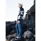 New Fashion Classic Black Color Turtleneck Sweater Men Autumn Warm Pullover Men Slim Fit Woolen Swea