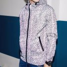 New Men Jackets Sweater Reflective Jacket Men\'s Fashion Hoodies Geometric Printed Outwear Casual Co