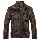 Brand New motorcycle leather jackets men jaqueta de couro masculina Bomber leather jacket Inverno Co