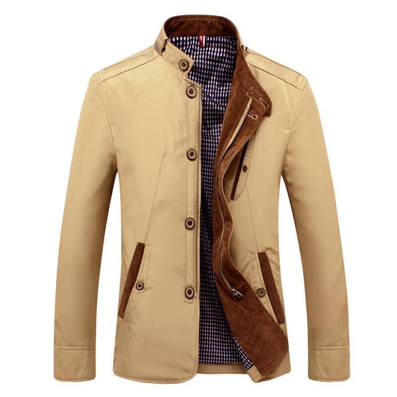 2017 Jacket Men Stand Collar Hot Sale Slim Fashion Jackets Mens Windbreaker Casual Suit Bomber Jacke