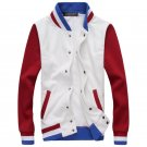 2016 HCXY brand fashion Sweatshirts men hit the color of autumn and winter coat jacket men and cashm