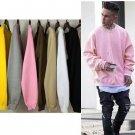 TOP hipster streetwear kpop hip hop Men women long sleeve oversized t shirt hip hop brand  cotton te