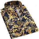 Men Shirts Long Sleeve Spring Summer Fashion Printing Floral Male Shirts Brand Clothing Casual shirt