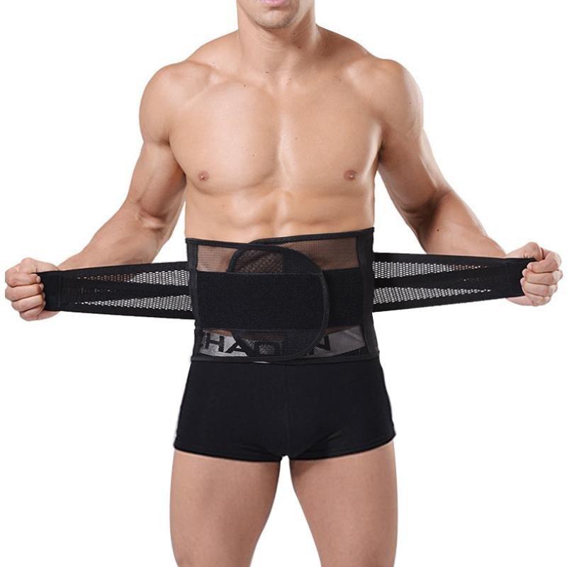 Breathable Body Shaper Men Slimming Belt Corset Shapewear For Men Bodysuit Underwear Slim body strin
