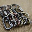 carabiner keychain key ring retro waist hanging key chain key holder high quality sleutelhanger chav