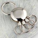 4 loops waist hanged keychain key ring detachable key chain key holder pants buckle creative portach
