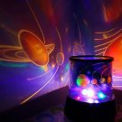 Star/Universe Master LED Night Lamp Projector Light with RGB Light for Baby Child Bedroom Sleep Ligh