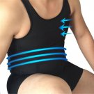 Mens Body Shaper Vest Bodybuilding Back Cross Design Chest Slimming Undershirt Waist Belly Posture S