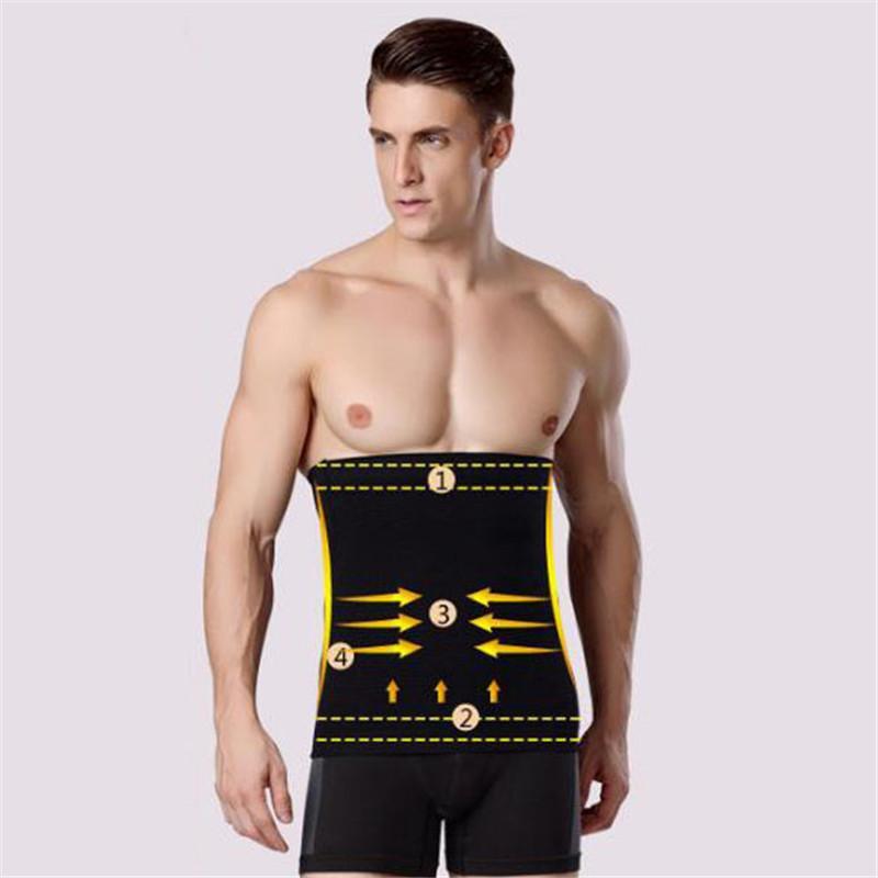 Slim Belt Male corset men shaper compression underwear Shapewear men slimming hot Body Shaper waist