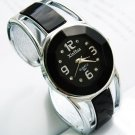 Womens Alloy Band Quartz Analog Round Dress Bracelet Wrist Watch Gift
