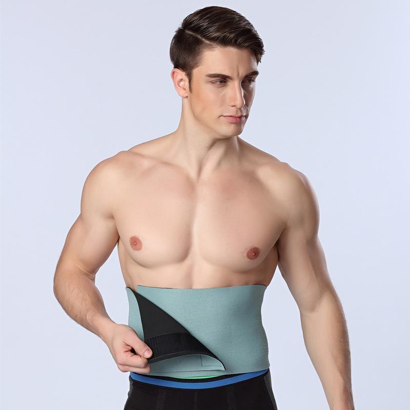 HOT Men/women Waist Cincher Slimming Belt Belly Abdomen Shaper Girdle Fitness Men Body Shaper Belt C
