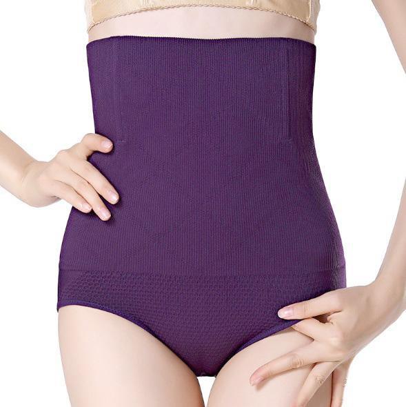Seamless Women High Waist Slimming Tummy Control Knickers Pants Pantie Briefs Shapewear Magic Body S