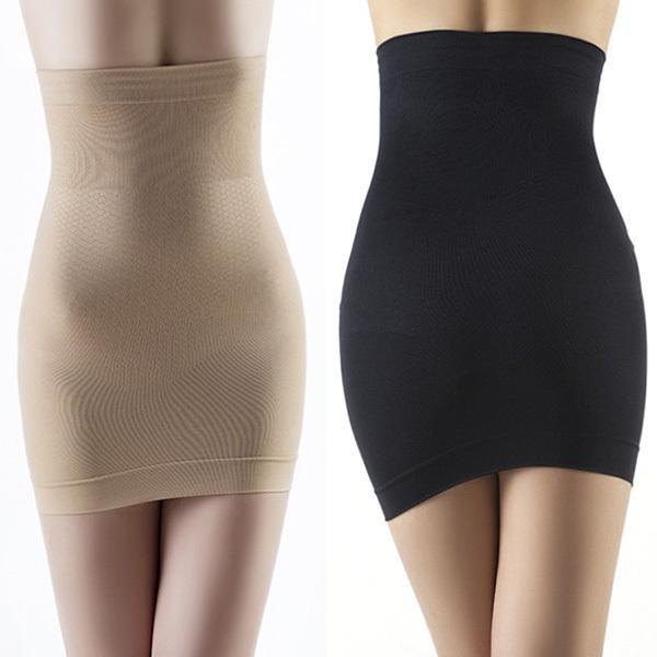 Women Hot Slimming Body Shapers Seamless Corset Hip Waist Trainer Cincher Shapewear Skirt M L